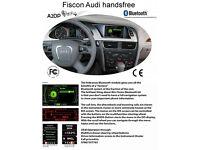 Audi Bluetooth oem fiscon handsfree carkit Edinburgh Dundee call