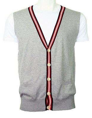 Galliano fake vest tee white/grey