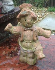 Resin Scarecrow Garden Ornament