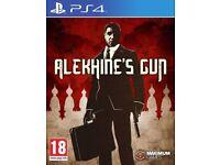 Alekhine's Gun PS4 USED