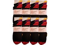 Wholesale Socks/Job Lot/ Bargain Price: Mens Heel & Toe Contrast Socks 50 Packs (150 Pairs)