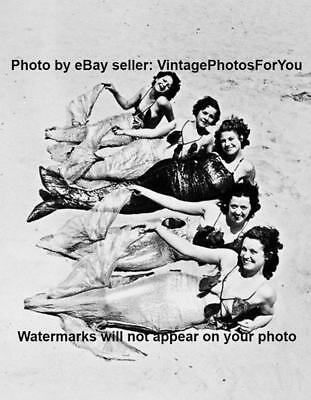Vintage/Old/Antique 1920s Weird/Strange/Funny Sexy Mermaid Costumes Photo/Image](Funny Mermaid Costume)