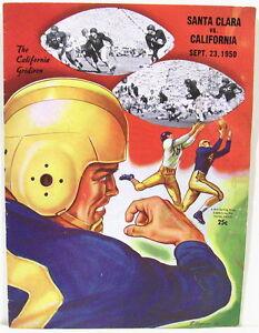 Santa-Clara-vs-Univ-of-California-College-Football-Program-Sept-23-1950