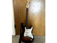 Fender Squier STYLE Spider Stratocaster Strat Electric Guitar.