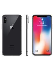 New unopened IPhone X space grey o2 64gb