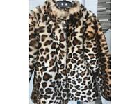 Faux-fur coat age 6/7