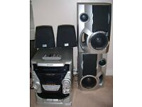 SHARP STEREO WITH FOUR SPEAKERS & REMOTE