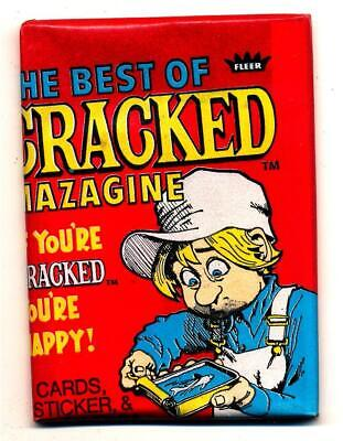 The Best of Cracked Magazine Trading Card Pack