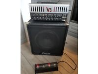 Carvin V3M 50w Amp Head, 100w Carvin Cab, Footswitch, Soft Case and Rackmount Bracket