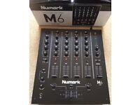 Numark M6 USB Mixer With Original Box