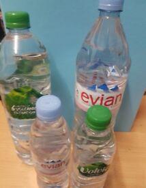 Water Bottles Surplus stock