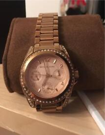 Rose Gold used Michael Kors watch
