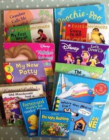14 hardback books for toddlers