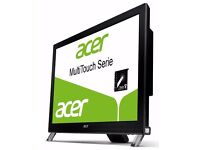 """Acer 23"""" multitouch LED LCD Full_HD 1080p MINT CONDITION! + cables! Grab a bargain! can deliver"""