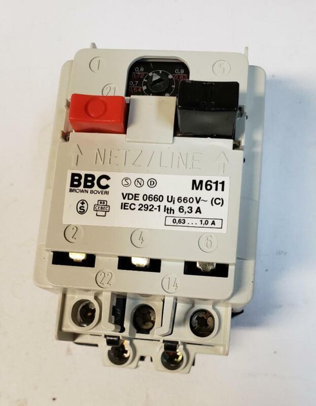 Brown Boveri BBC S161-L 10 A 380 V Stotz MCB
