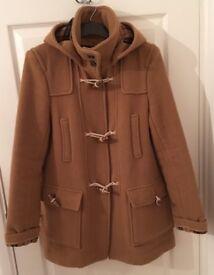 Topshop Duffle Coat size 12 hardly worn