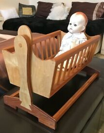 Dolls wooden Cradle
