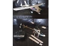 RC - radio controlled plane and helicopter - 2 transmitters £50 ono