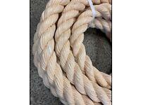 40mm synthetic sisal rope x 15 metres