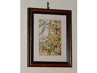 Lime Tree Fairy - Framed print by Cicely Mary Barker