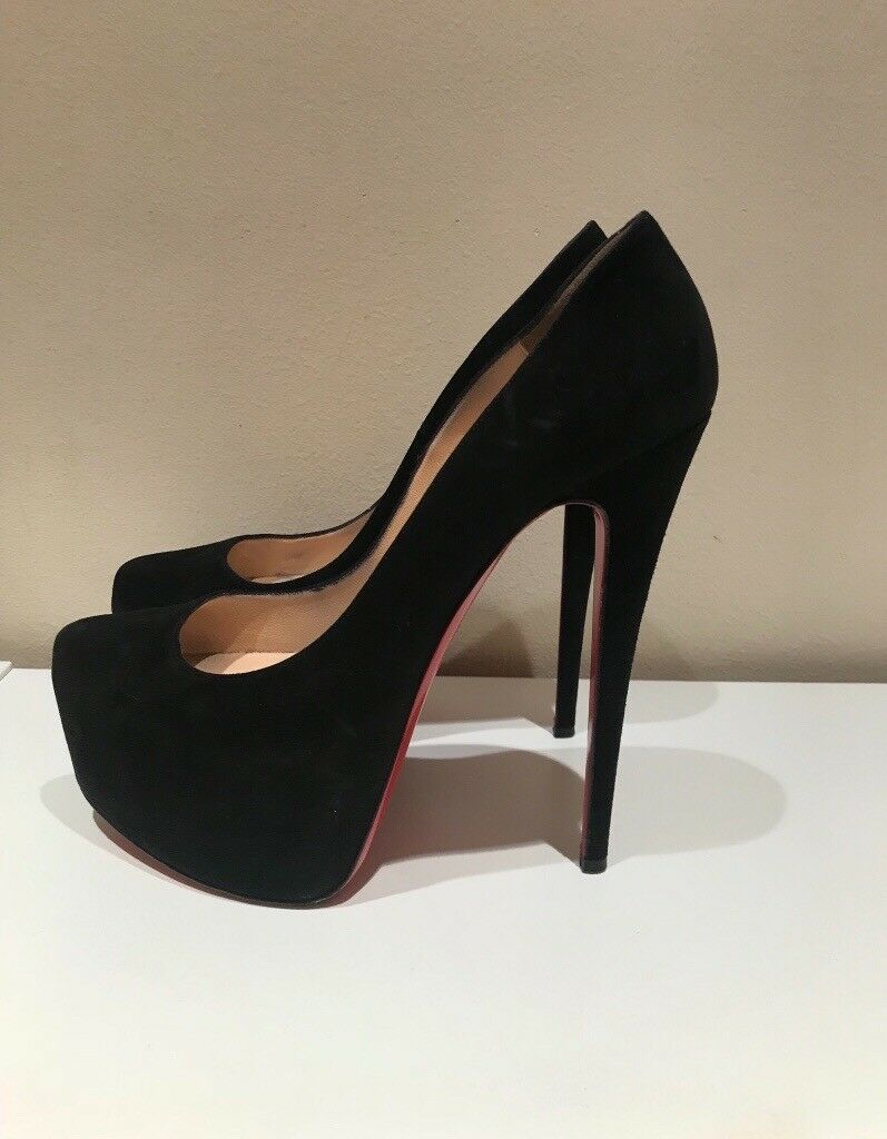 separation shoes 426b1 e67f1 Christian Louboutin Daffodile suede shoes Size 39 | in Paddington, London |  Gumtree