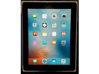 Ipad 2 Wifi 16GB with blue flip official Apple case.