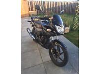 Honda CBF 125, Low mileage; ideal learner bike