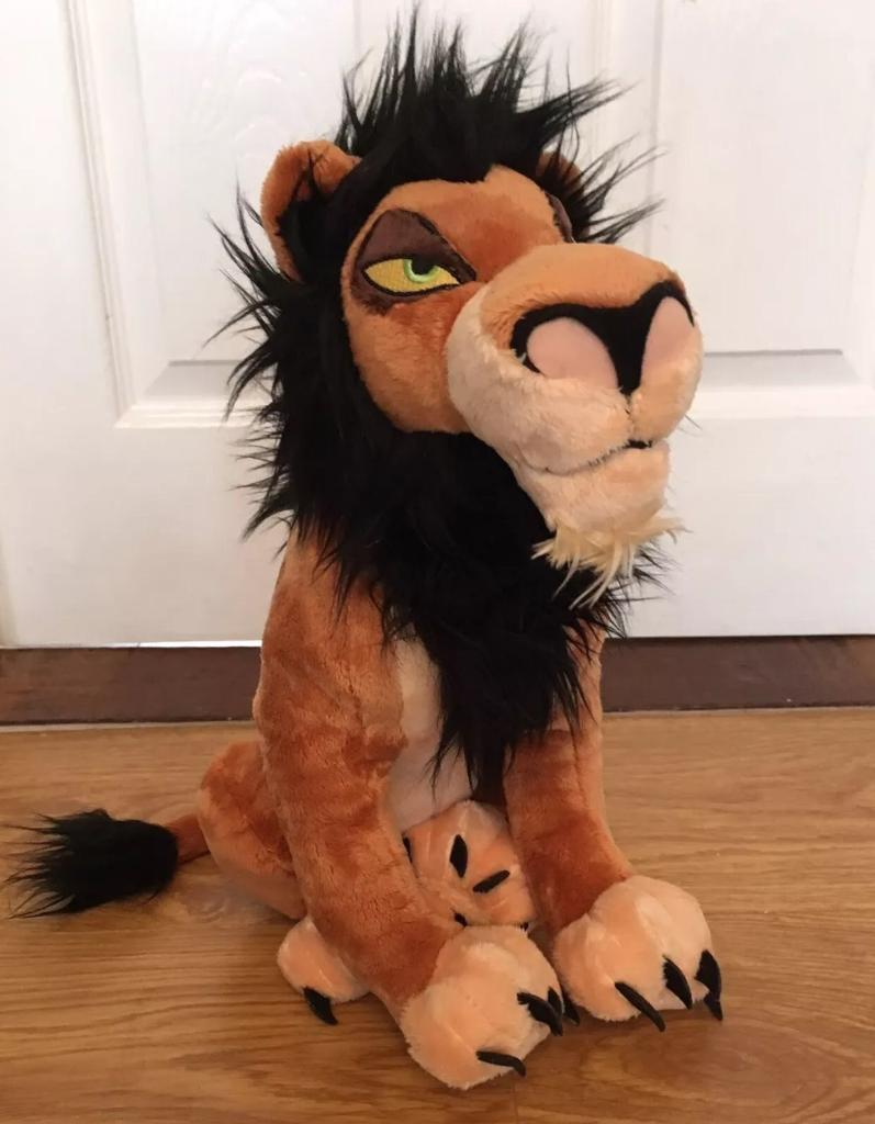 Seeking Disney store scar toyin Kirkintilloch, GlasgowGumtree - Hello does anyone have this plush toy for sale looking to replace my sons one that he lost yesterday thank you so much