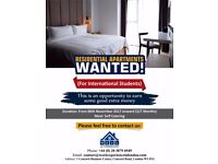 Residential Apartments Wanted!