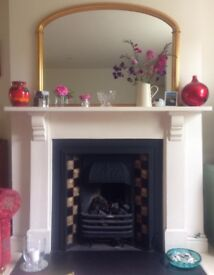 Over Mantle Mirror John Lewis - beautiful condition