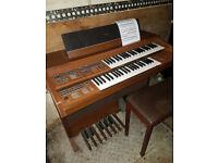 Yamaha electric organ.