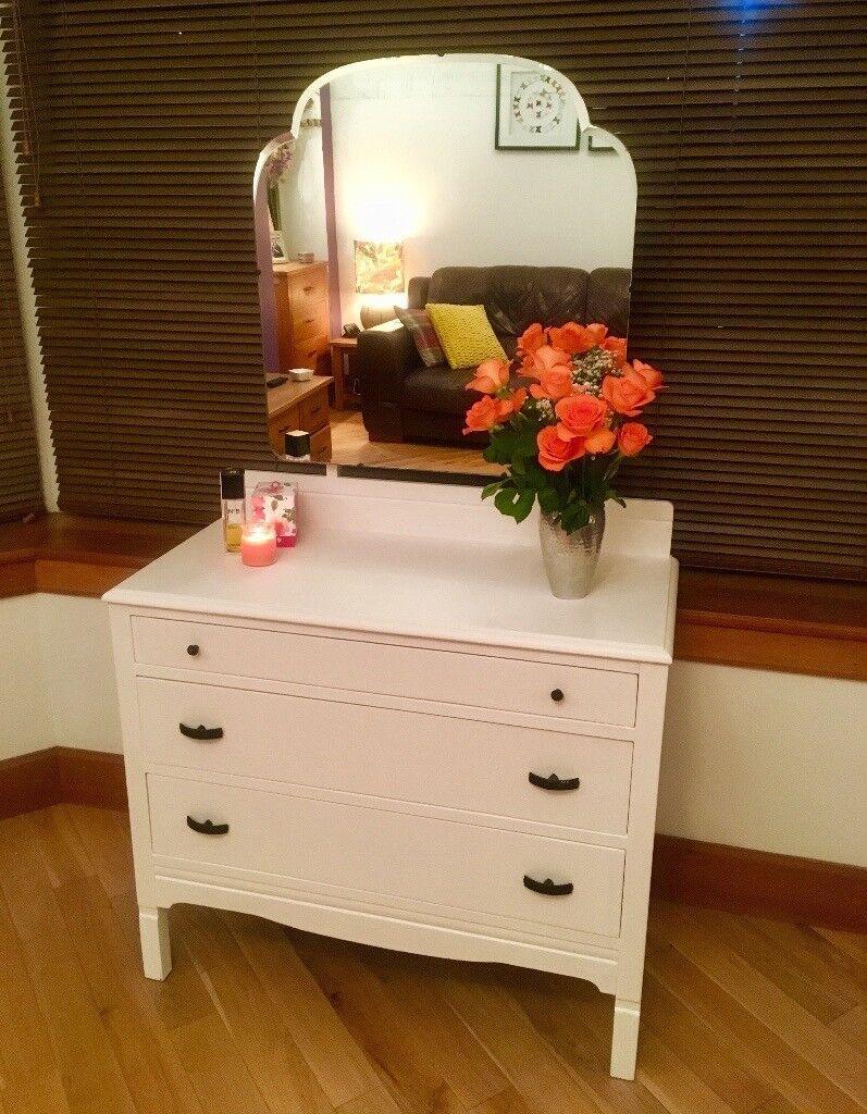Hand Restored Vintage Dresser