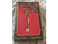 18th birthday key!
