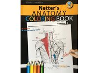 Netter's Anatomy Coloring Book by John T Hansen, First Edition. New and unused