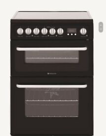 Hotpoint electric double oven cooker