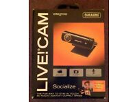 Creative 'Live! Cam Socialize' Web Camera (boxed)