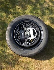 Continental 15inch Full Size Unused Spare Wheel Plus Kit