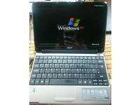 Notebook (laptop)- Acer Aspire One, Windows XP inc. Microsoft programs