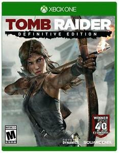 TOMB RAIDER DEFINITIVE ED. XBOX ONE BRAND NEW AND FACTORY SEALED Cambridge Kitchener Area image 1