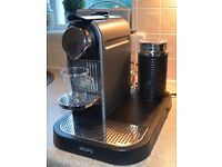 Nespresso CITIZ & MILK TITANIUM COFFEE MACHINE