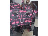Flamigo double pushchair