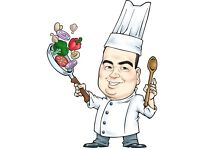 Chef for parties and private dinners