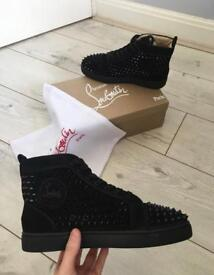 Black Spiked High Top Christian Louboutins (Sold out but taking orders)