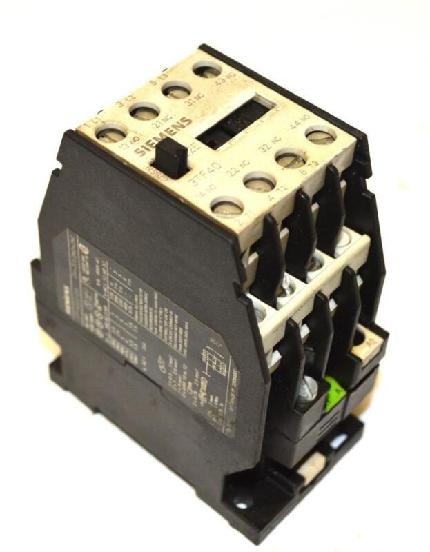 SIEMENS 3TF4022-0A MOTOR STARTER 690 VAC MAX. 20 AMP