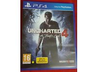 PS4 GAMES UNCHARTERED 4