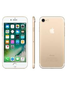 iPhone 7 gold 128 GB unlocked