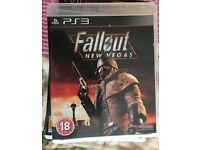 PS3 game DVD FALLOUT for sale
