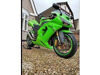 ** Kawasaki ZX6R show bike **