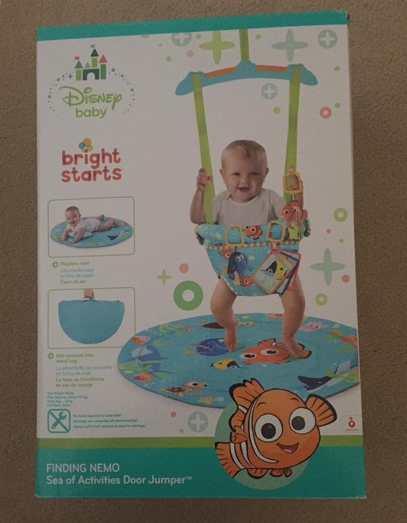 e794061751b Disney Baby Bright Starts Finding Nemo Sea of Activities Door Jumper | in  Chapelhall, North Lanarkshire | Gumtree