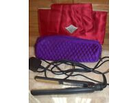 GHD Hair Straighteners with Two Heat Protection bags